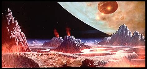 Vulcan Matte Painting Of Awesome