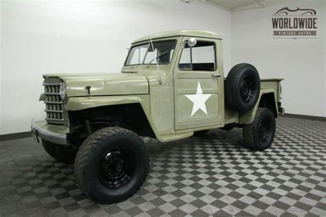 willys jeep pickup for sale 1952 jeep willys pickup v8 4x4 for sale