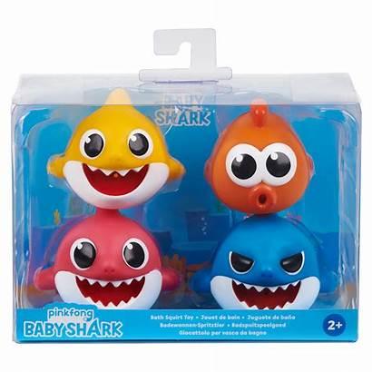 Toys Bath Squirt Pinkfong Babyshark Wowwee