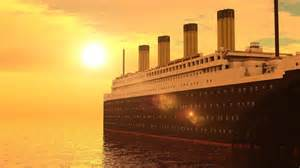 minecraft rms titanic departure travel and sinking