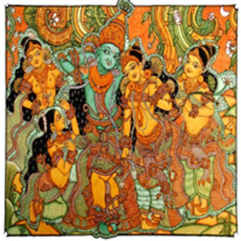 kerala mural art prints