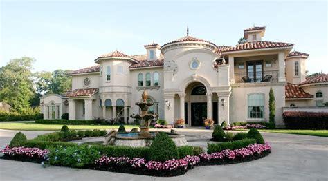 mediterranean style luxury villa blueprint