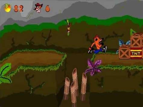 crash bandicoot fan game crash bandicoot fan game wip test 5 youtube