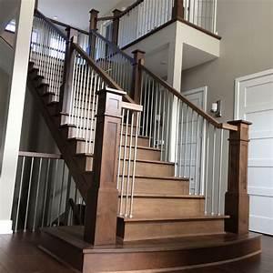 Escalier En U : escalier sur mesure laurentides ~ Farleysfitness.com Idées de Décoration