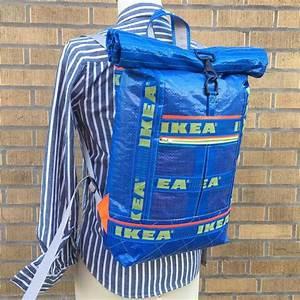 Türstopper Sack Ikea : sew good a roll top backpack from ikea blue bags ikea ~ A.2002-acura-tl-radio.info Haus und Dekorationen