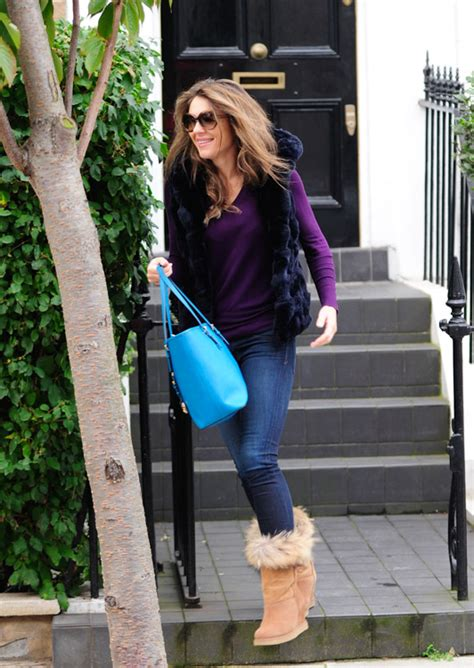 Elizabeth Hurley Goes Affordable with a Bright Michael ...