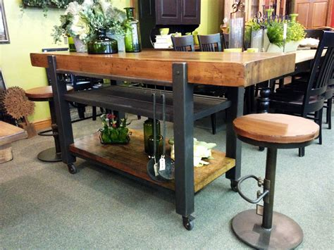 Industrial Island   Walnut Creek Furniture