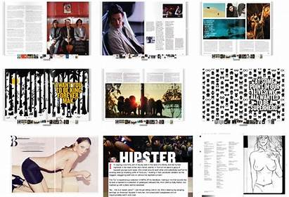 Magazine Moodboards Graphic Layouts Research Logbook Different