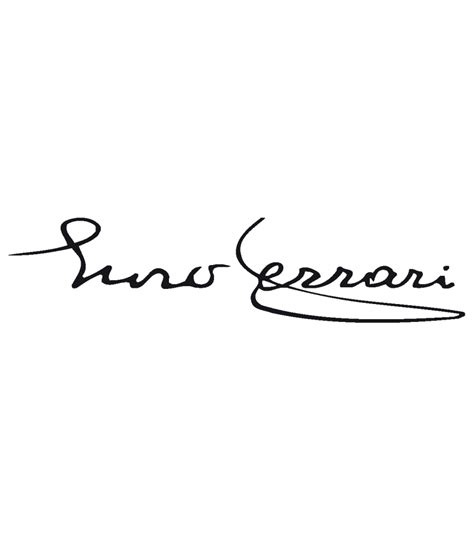 ferrari emblem tattoo handtekening enzo ferrari sticker kopen sign styling oss