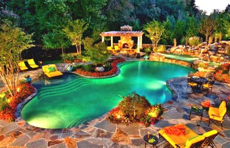 Rustic Pool House Ideas With Wonderful Outdoor Living