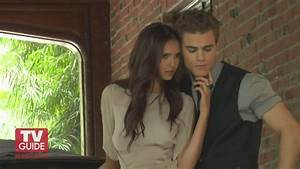TV Guide Photoshoot - Behind the Scenes - Paul Wesley and ...