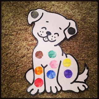 preschool dog activities s colorful day aww a dalmatian with bingo dabbers 531