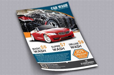 All from our global community of graphic designers. 22+ Car Wash Flyer Templates - Free & Premium Download