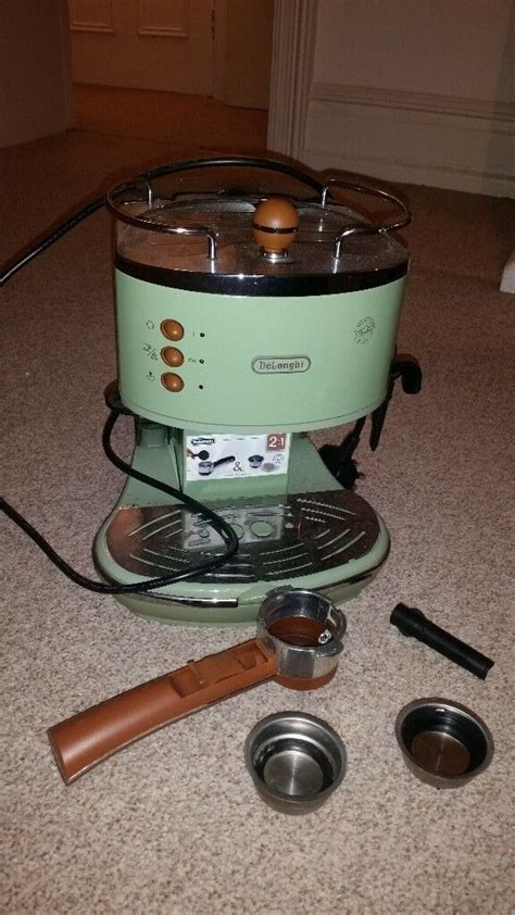 Bring your work cafe to life with perfectly crafted coffees, teas, lattes, cappuccinos, and authentic. Retro green Delonghi coffee machine for quick sale | in Hove, East Sussex | Gumtree