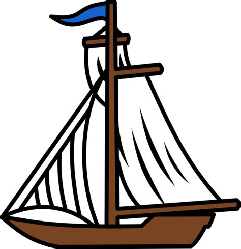 Free Clipart Of Boat by Sail Boat Clip At Clker Vector Clip
