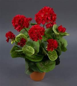 Künstliche Pflanzen Für Den Außenbereich : geranie 36cm rot lm kunstpflanzen k nstliche pflanzen ~ Michelbontemps.com Haus und Dekorationen