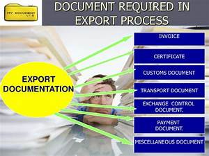 export process and documentation With export documentation training