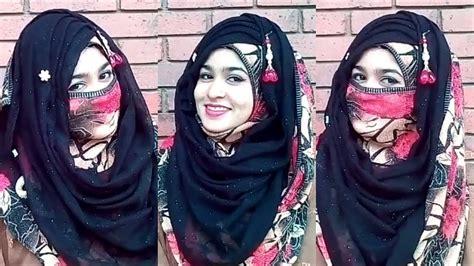 eid special party hijab style  niqab  niqab