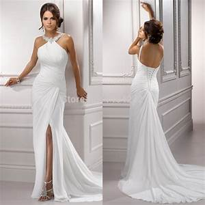 high quality halter neck floor length off the shoulder With off the shoulder sheath wedding dress