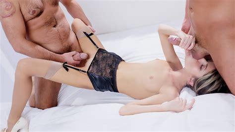 Erotic Mmf Threesome With Gorgeous European Top Model Gina