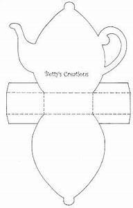 Schachteln Basteln Vorlagen : bettys creations teekanne mit vorlage bea pinterest teekanne tee und vorlagen ~ Orissabook.com Haus und Dekorationen