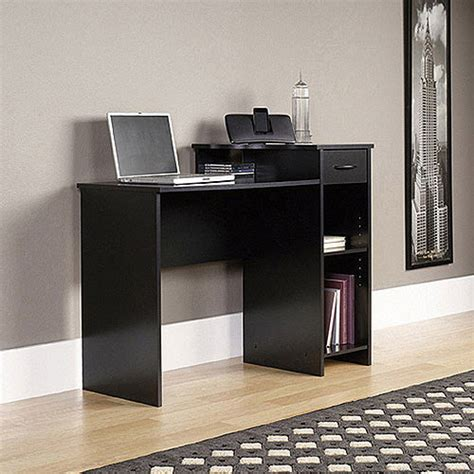 mainstays computer desk black silver finish mainstays black student desk with optional office chair