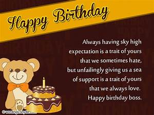 Birthday Wishes for Boss and Birthday Card Wordings for