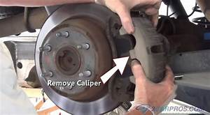 Car Repair World  How To Replace Rear Brake Pads And Rotors