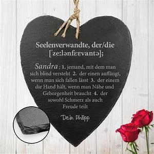 Schieferherz Mit Gravur : schieferherz mit gravur definition seelenverwandte mit ~ Sanjose-hotels-ca.com Haus und Dekorationen