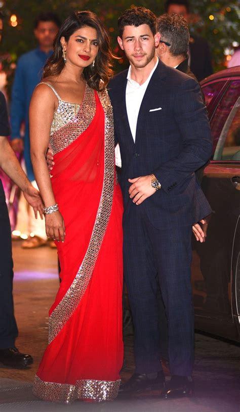 priyanka chopra  nick jonas  wearing matching rings