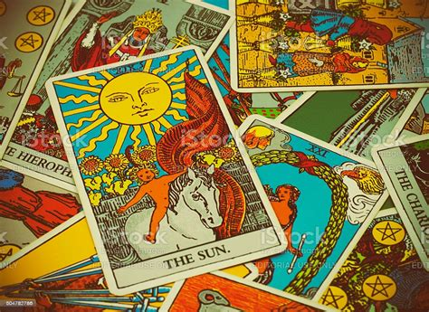 Check spelling or type a new query. Illustrative Editorial Rider Waite Tarot Cards On The Table Stock Photo - Download Image Now ...