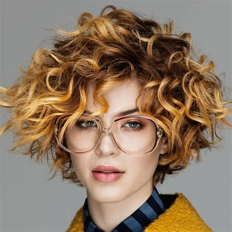 short curly haircuts  long faces short  cuts