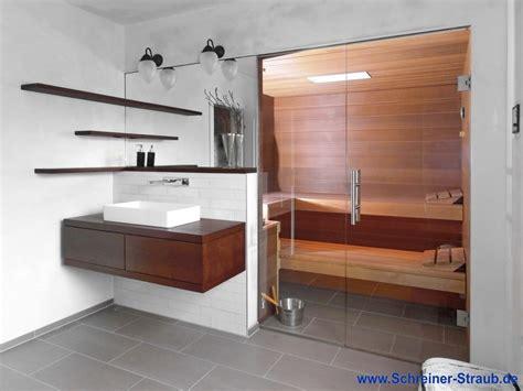 Sauna Fürs Bad badezimmer sauna sauna im eigenen bad schreiner straub