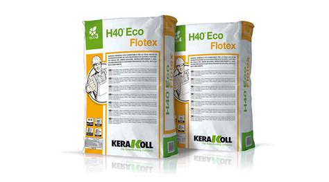 kerakoll h40 eco tile adhesives for all types of tile