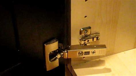 ikea integral kitchen cabinet door hinge   clip