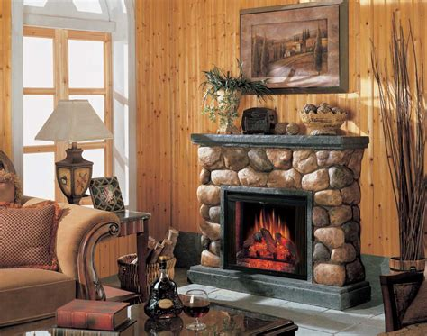 potomac electric fireplace   classic flame