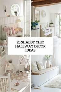 25 Cute And Sweet Shabby Chic Hallway Dcor Ideas DigsDigs