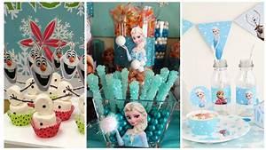 Imprimibles y manualidades para decorar un cumpleaños de frozen ~ cositasconmesh