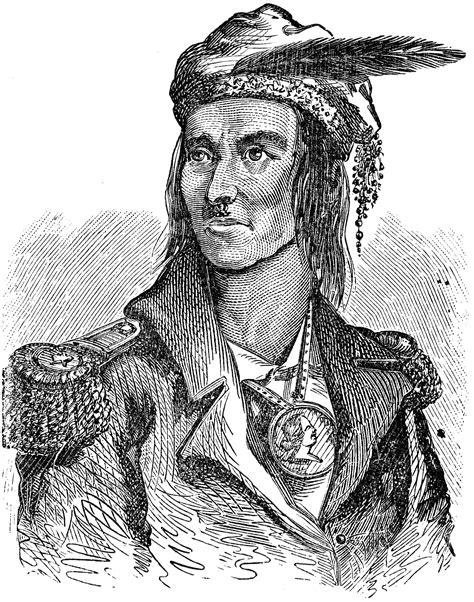 tecumseh clipart