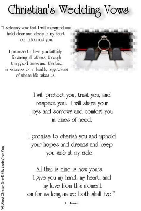 wedding vows christian contemporary 350 best images about fifty shades of grey on