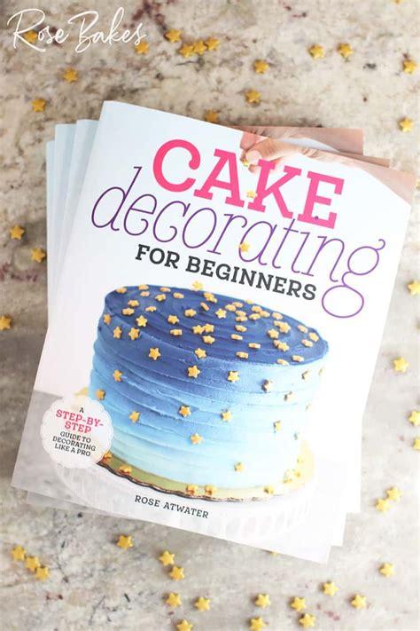 cake decorating  beginners  book