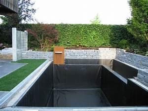 Wasserlauf Garten Modern : gartenteich modern anlegen garten und bauen new garten ideen ~ Markanthonyermac.com Haus und Dekorationen