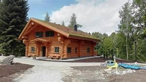 Gartenhaus 2 Etagen : naturstammhaus naturstamm blockhaus die blockhausbauer in sachsen ~ Frokenaadalensverden.com Haus und Dekorationen