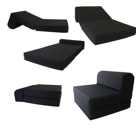 sleeper chair folding foam bed black sleeper chair folding foam bed sized 6 thick x 32
