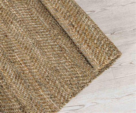 tappeti juta tappeto in juta e pelle beige 200 x 300 cm duzzle