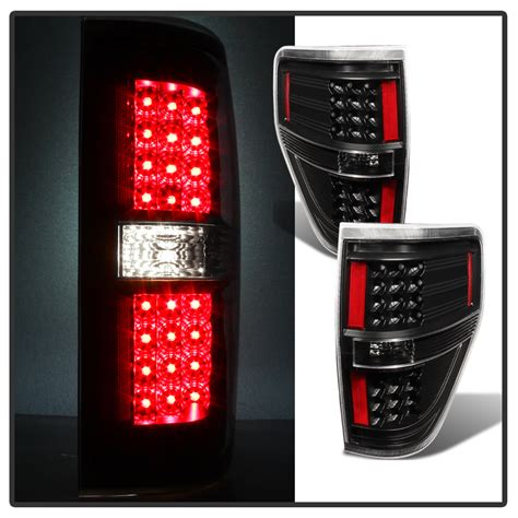 2014 f150 tail lights 2009 2014 ford f150 performance led tail lights black