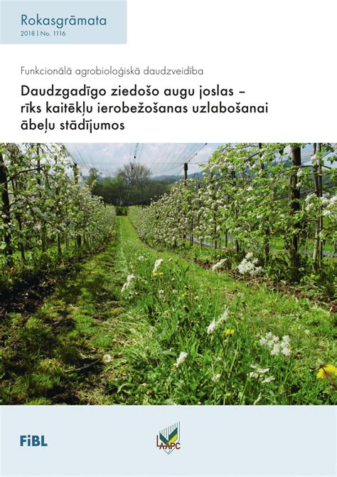 (PDF) Daudzgadīgo ziedošo augu joslas rīks kaitēkļu ierobežošanas uzlabošanai ābeļu stādījumos