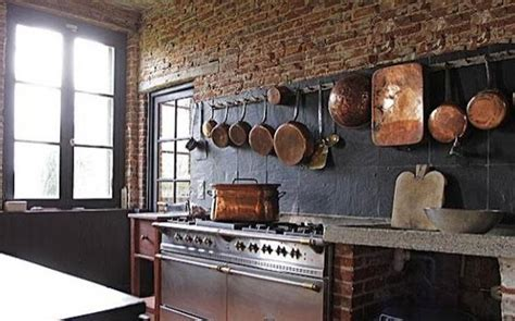 Modern Kitchen Decor with Brick Walls, 25 Interior