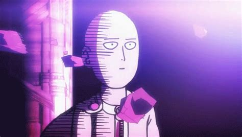 saitama one punch saitamaunimpressedone gifs find on giphy
