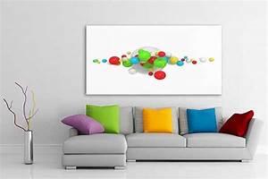 Tableau Salon Moderne : tableau abstrait candies izoa ~ Farleysfitness.com Idées de Décoration